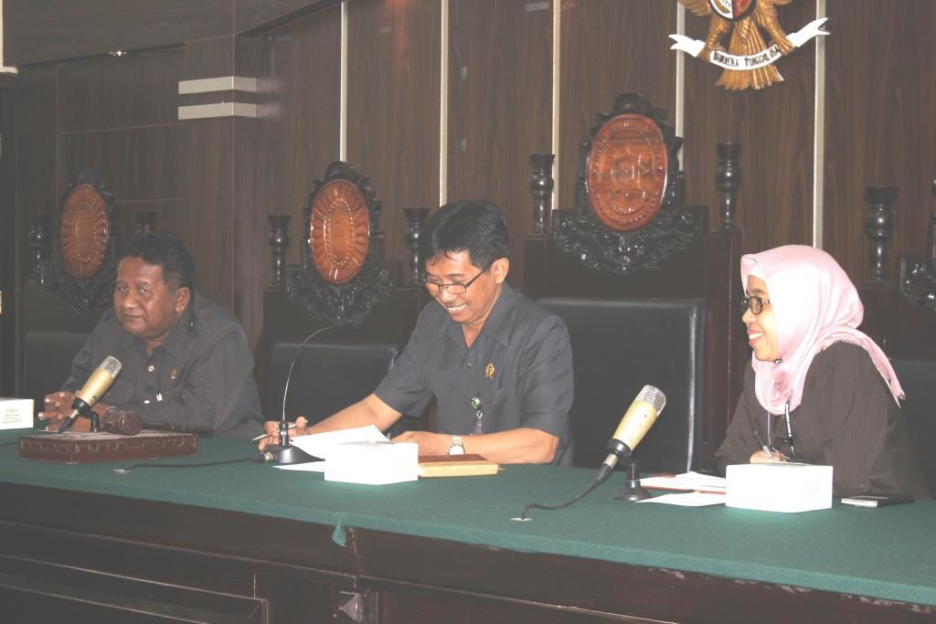 Hari Pertama bapak BAMBANG PRAMUDWIYANTO SH., MH sebagai KPN JEMBER