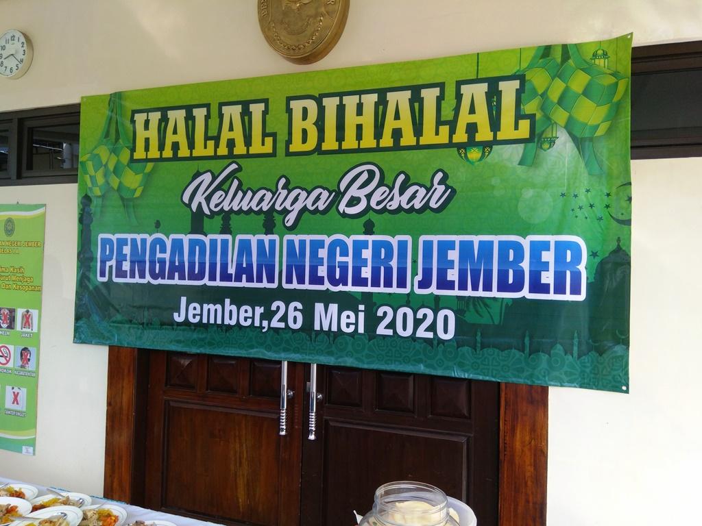 Halal Bihalal Keluarga Besar Pengadilan Negeri Jember