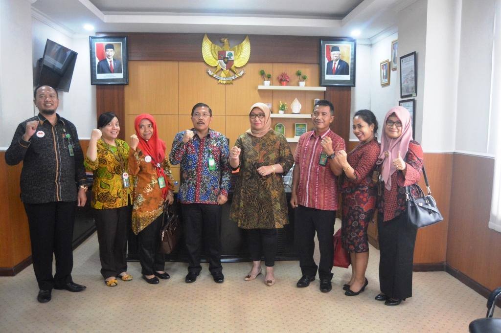 Studi Banding ke Polres Sidoarjo dan Pengadilan Negeri Surabaya