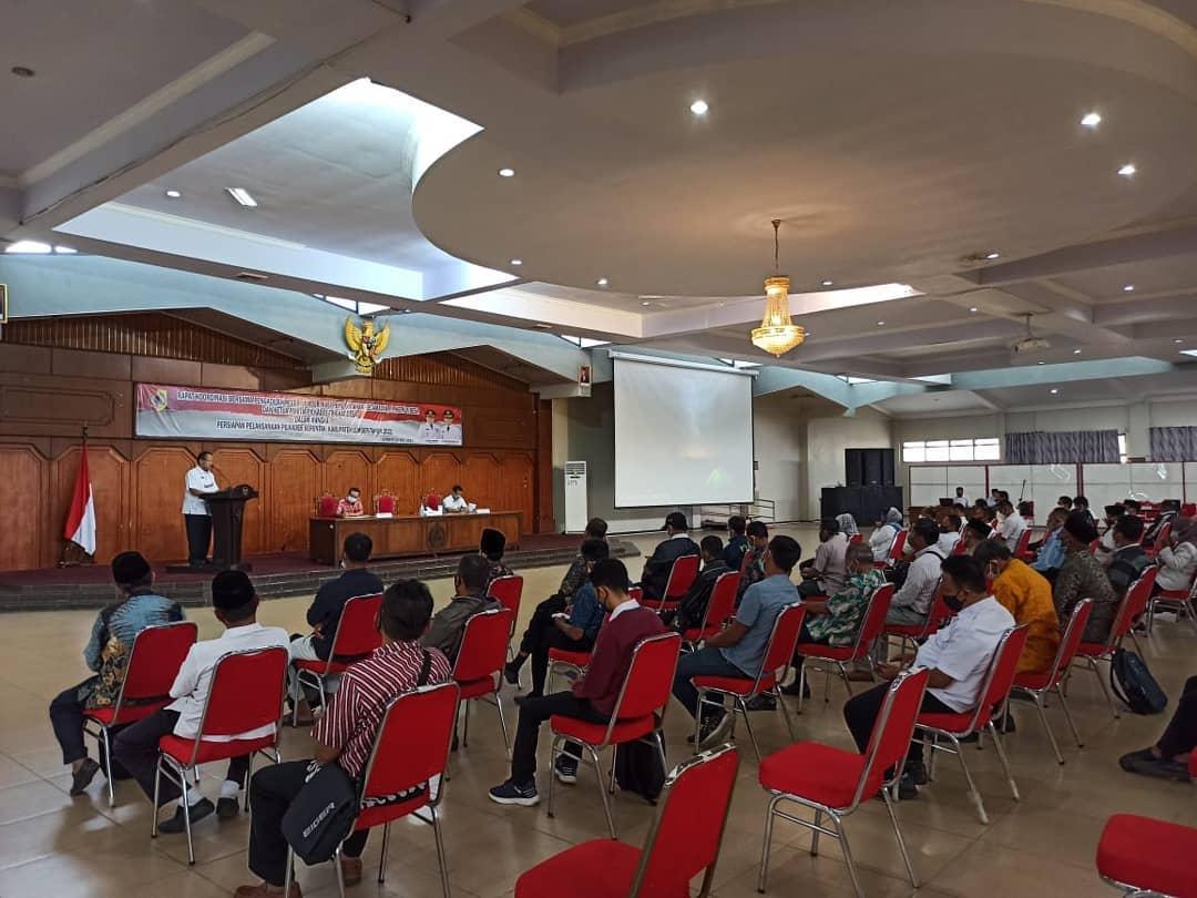 Rapat Koordinasi Bersama Antara Pengadilan Negeri Jember dengan Pemkab Jember dalam Rangka Pelaksanaan Pilkades Serentak di 59 Desa